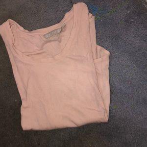 Soft pink T-shirt